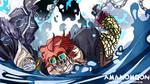 One Piece 947 Eustass Kidd Kamazou Killer Saves by Amanomoon