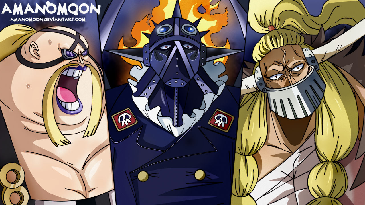 One Piece Chapter 952 Queen King Jack Kaido Calami By Amanomoon On