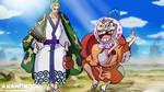 One Piece Zoro Juro meet Tonoyasu Yasuie Wano Kuni by Amanomoon