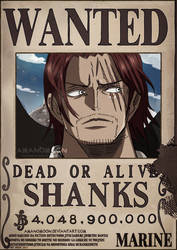 Wanted Poster On One Piece Pirates Deviantart