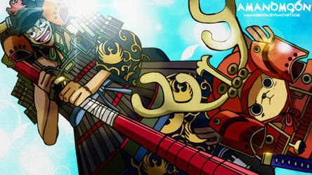 One Piece Chapter 960 Luffy Samurai Armor Anime