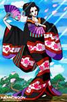 One Piece Fanart Robin Geisha O-Robi Wano Full