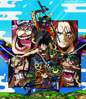 One Piece Volume 95 Luffy Samurai Armor Anime