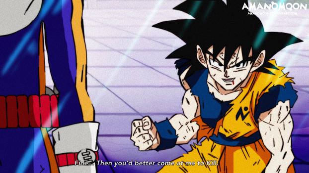 Dragon Ball Super Goku vs Merus Anime Style