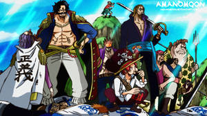 One Piece Chapter 965 Gold Roger Pirate Crew Anime