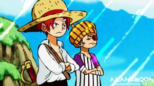 One Piece Chapter 966 Shanks Teach Buggy Skypiea