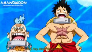 One Piece Luffy Tarou Hyogoro Udon Wano Anime Colo