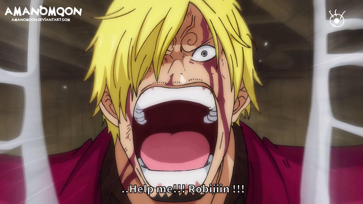 One Piece Chapter 1005 Robin Brook Sanji Maria