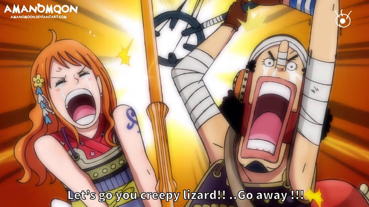 One Piece Chapter 1011 O-Tama Nami Usopp Onigashim