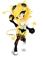 Explosive girl by DayinDark15