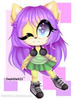 At: Layla the hedgehog :. by DayinDark15