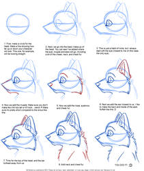 How to Draw: Canine Profile Tutorial