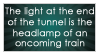 Light at the End of the Tunnel by JustAutumn