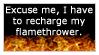 Flamethrower by JustAutumn