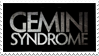 Gemini Syndrome Stamp by JustAutumn