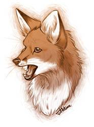 Fox by JustAutumn