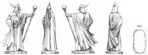 Duellum magician character
