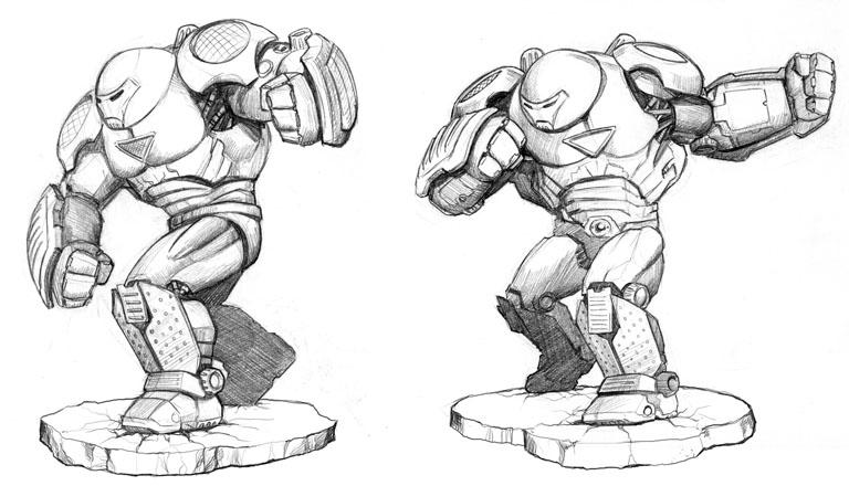 Ironman Hulkbuster By Martinorona On DeviantArt