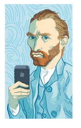 Selfie Van Gogh
