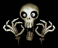 Scary Skull by martinorona