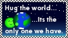 Hug the world by Kezel-stamps
