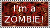 I'm a zombie by Kezel-stamps