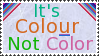 Colour not color stamp .2 by Kezel-stamps