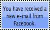 Email from Facebook by Kezel-stamps