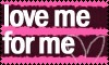 Love me for me by Kezel-stamps
