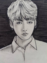 Jungkook sketch by Lipzi664