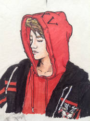 Exo sketch  by Lipzi664