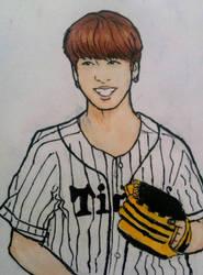 Jungkook baseball shirt by Lipzi664