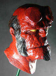 Hellboy painted by MosesJaen