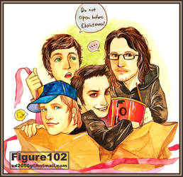 Fall Out Boy by Figure102