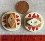 Southwestern Chip Buttons