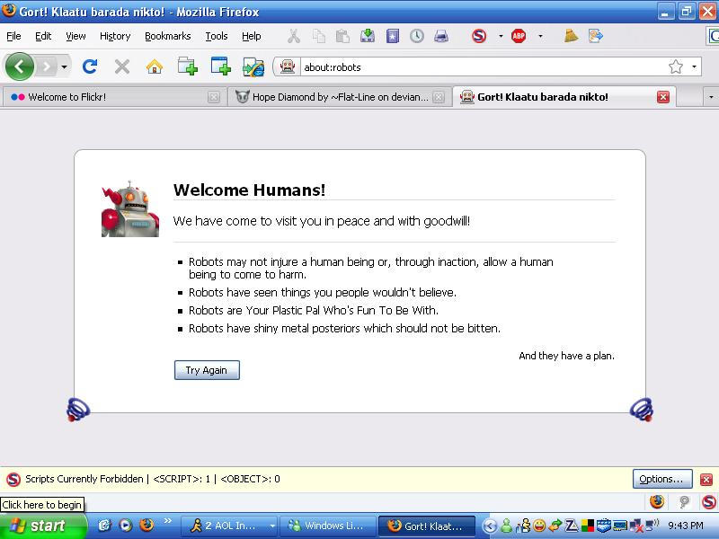 Welcome Humans
