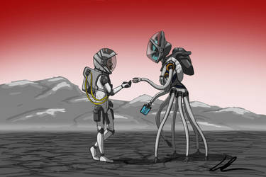 First Contact by SolarWolf49