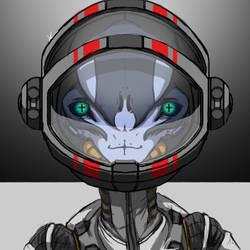 Hello Human by SolarWolf49