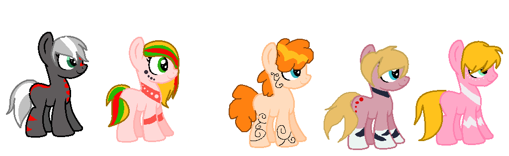 Foals done by Animegirl177