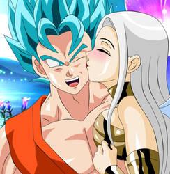 NEAN Y GOKU Kiss Love