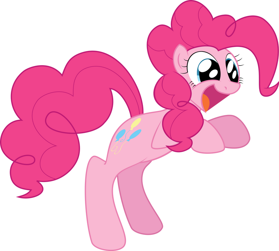 Pinkie Loves the Muffins Original Vector by Petalierre