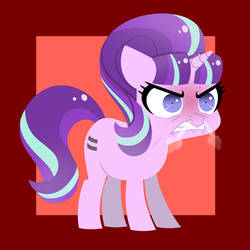Angry Glimmy by Petalierre
