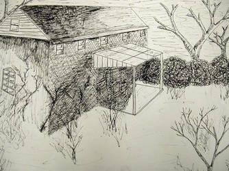 Farmhouse by cometomorrow