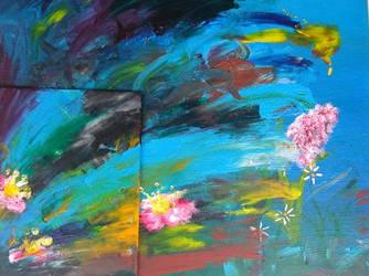Flowerfall by cometomorrow