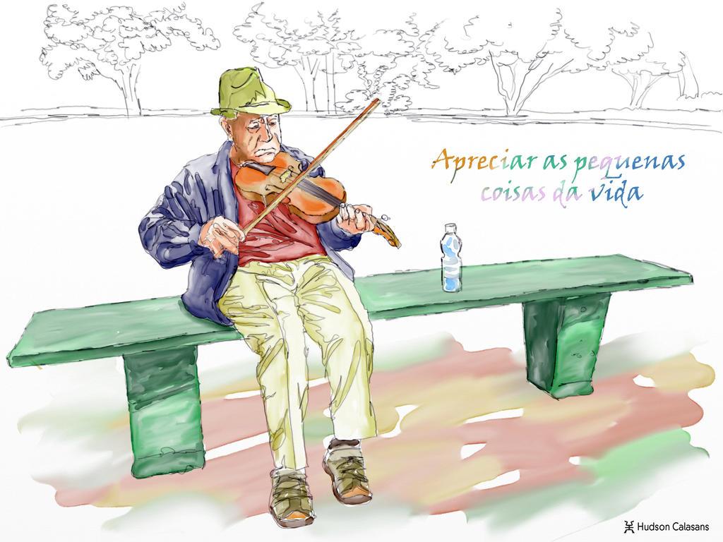 The Violinist by HUD-HUDSON