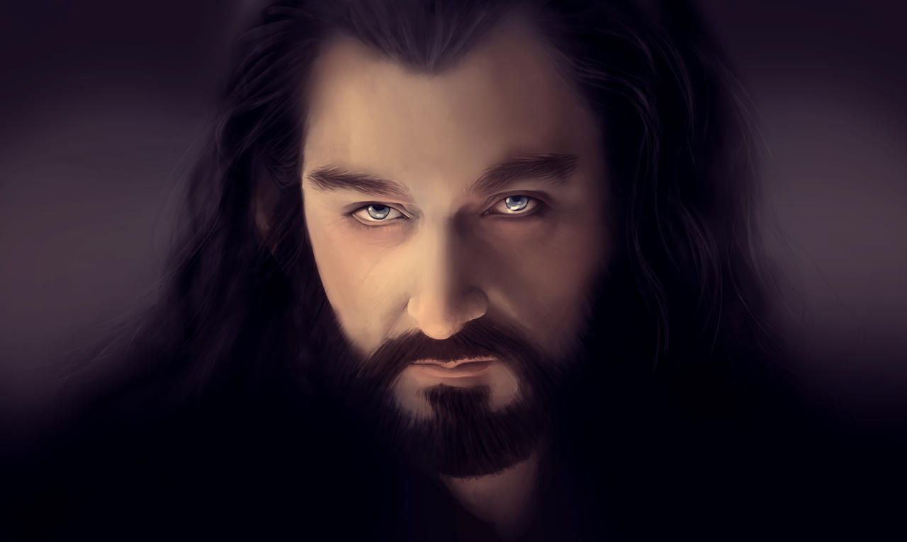 How To Draw Thorin Oakenshield In Pencil Step 4  Apps Directories