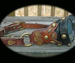 Gypsy Steampunk Goggles by mantisred