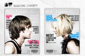Dual Magazine Concept by BewPix