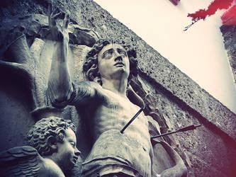 Salzburg Statue by BewPix