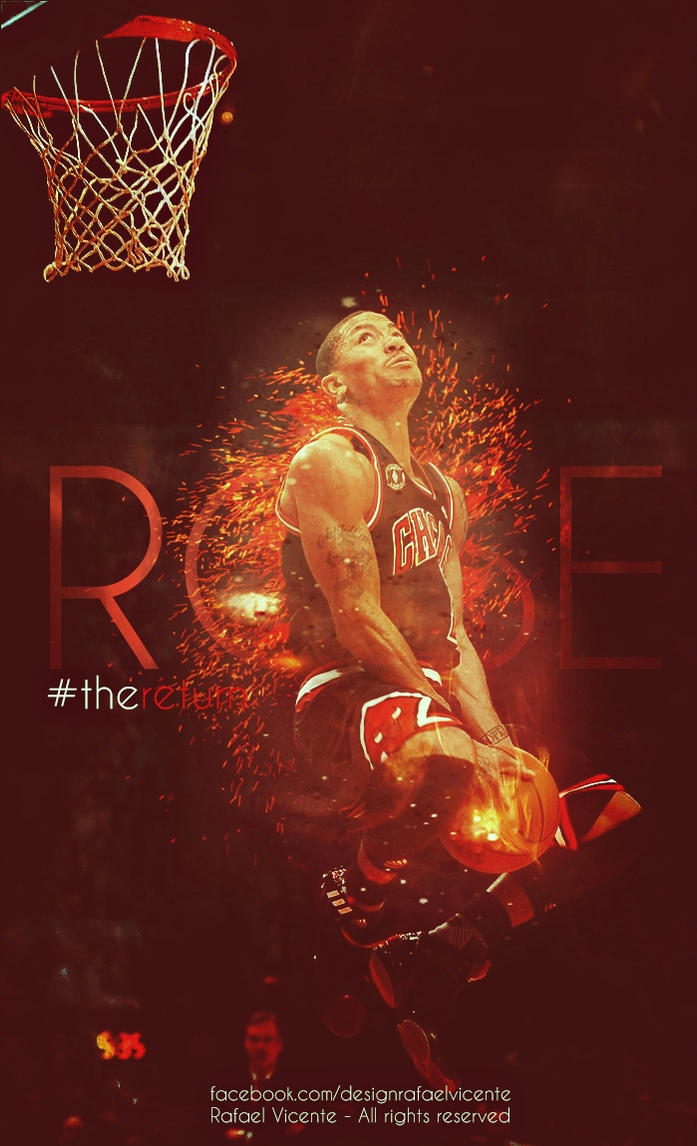 Derrick Rose - 'Fierce' (WALLPAPER) | SLAMonline